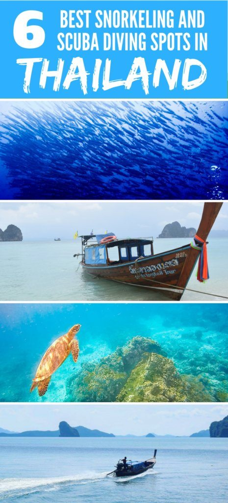 The 6 best places to scuba dive snorkel in thailand - Where to dive in thailand ...