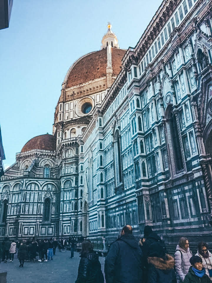 Getting up close to the majestic Duomo of Florence