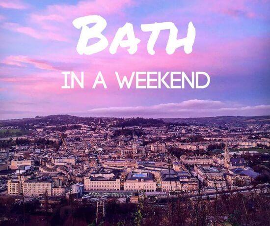 Bath in a weekend