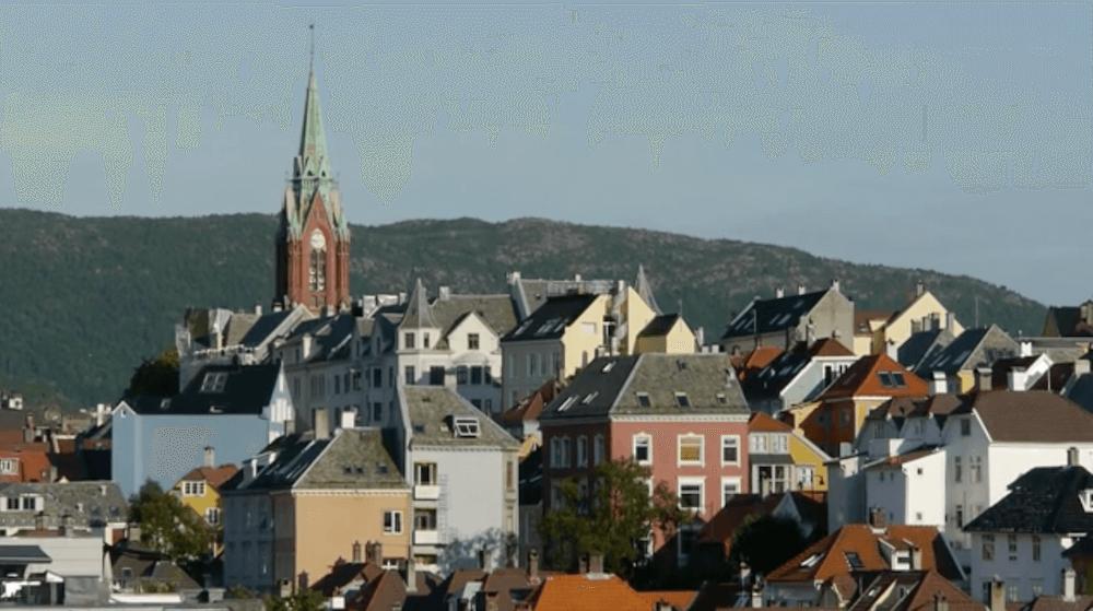 Views over Bergen