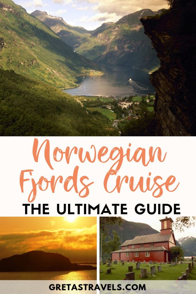 Norway is a must-see destination for nature lovers. We went on a cruise in the fjords with Hurtigruten, a fantastic experience which I highly recommend. We cruised from Bergen all the way up to Cape North, and were fascinated by the beauty of the fjords and the midnight sun. Find out everything you need to know about cruising the Norwegian fjords with this ultimate Norwegian fjords cruise tips, review & guide. #norway #cruise #europe #fjords #traveltips #traveladvice #travelreview #norwegianfjords #hurtigruten