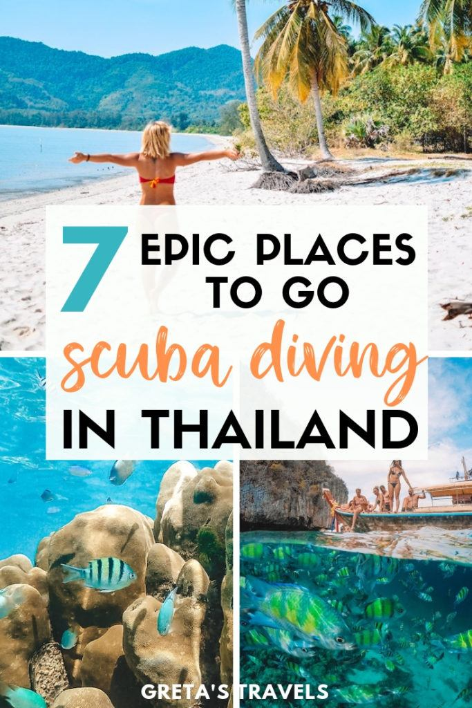 The best places to go scuba diving and snorkelling in Thailand