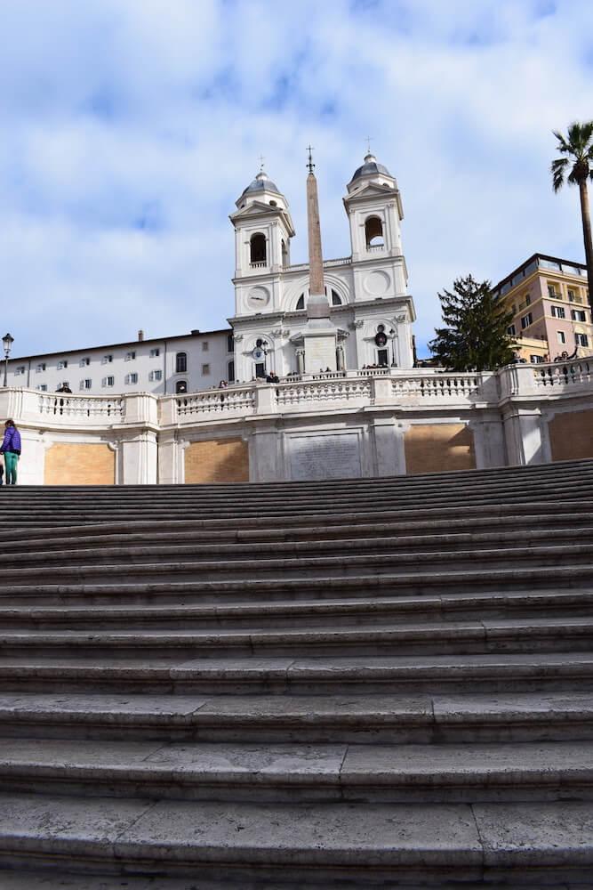 Trinità dei Ponti and the Spanish steps