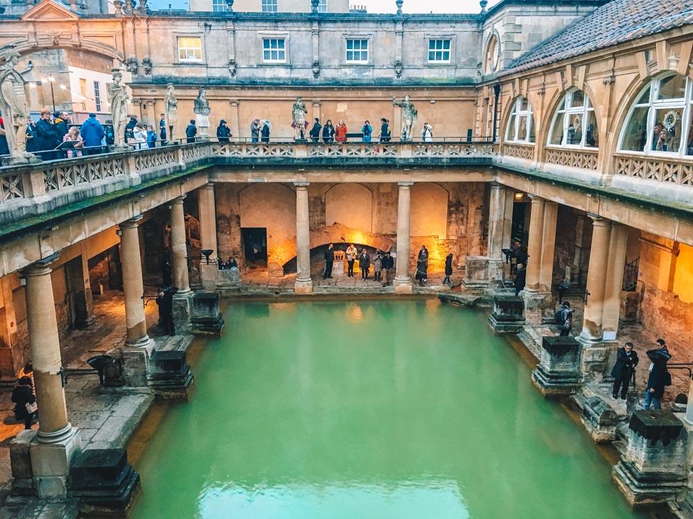 The Roman Baths - a must see in any Bath weekend break