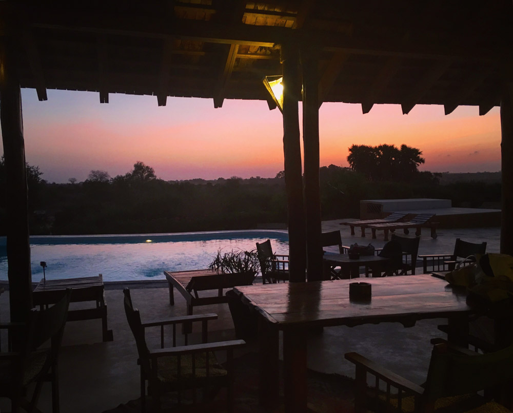 Early morning light at Swara Osteria Camp, just before setting off for our safari!