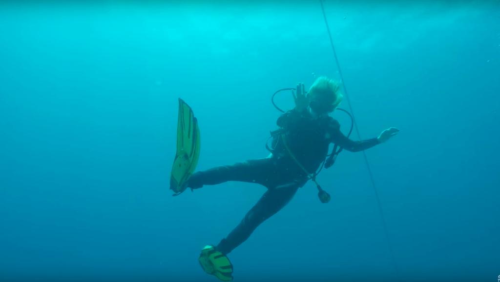 Scuba diving in the Watamu Marine National Park