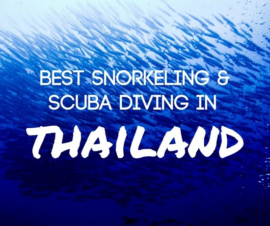 Best places to snorkel and scuba dive in Thailand