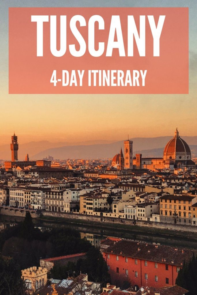 Tuscany is one of the most beautiful and popular regions in Italy. Find out how to spend 4 days in Tuscany, including visits to Pisa, Siena and Florence. #tuscany #italy #pisa #siena #florence #4dayitinerary #traveladvice