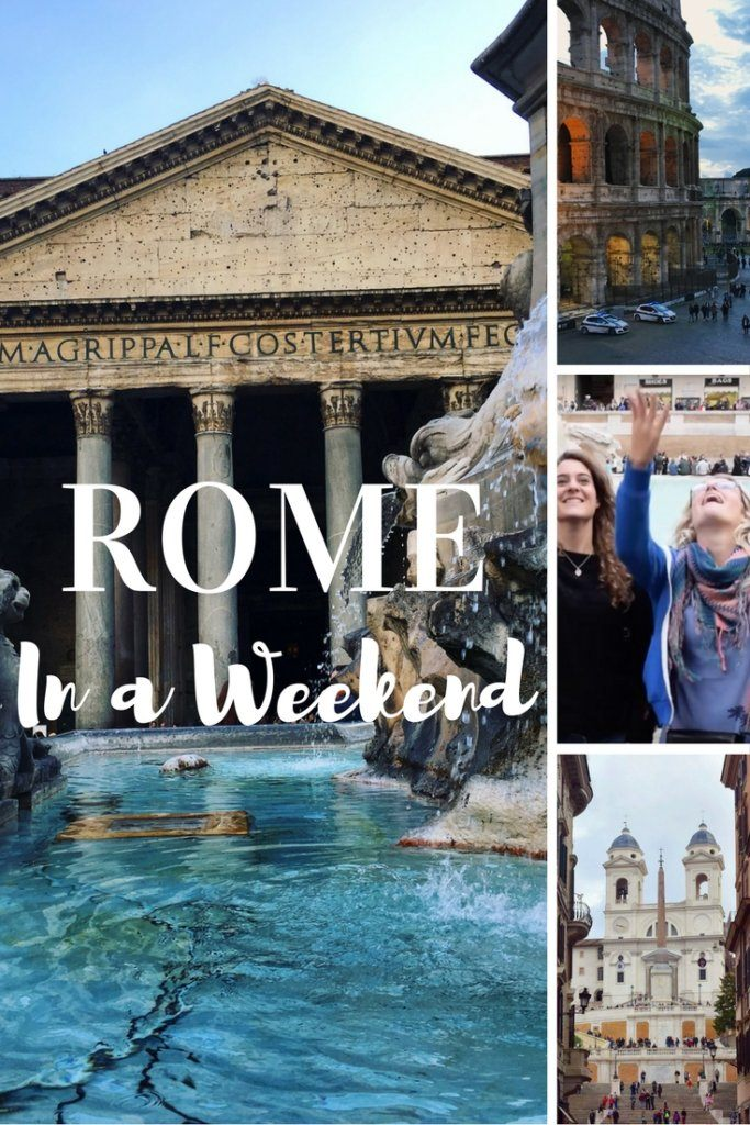 Rome In A Weekend Best Things To Do Walking Itinerary With Map