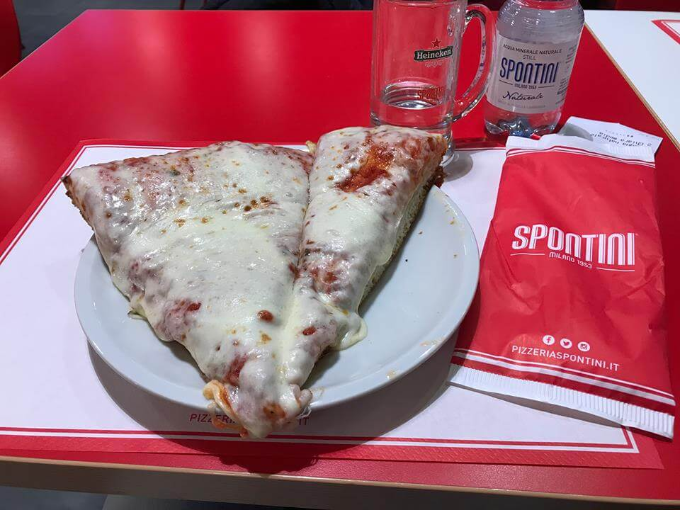 The awesome pizza of Spontini