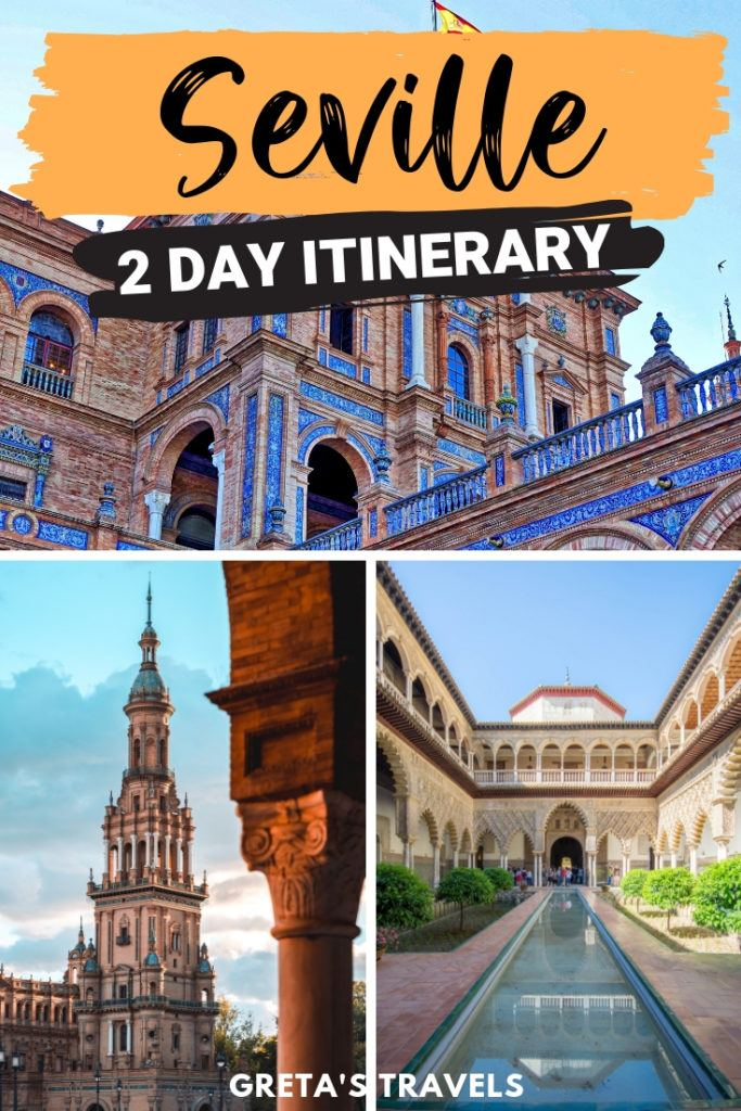 Seville in Spain is the perfect European weekend break. Find out the best things to do in Seville in a weekend with this 3-day weekend itinerary. #seville #spain #europe #weekendbreak #traveltips #traveladvice #spaintraveltips
