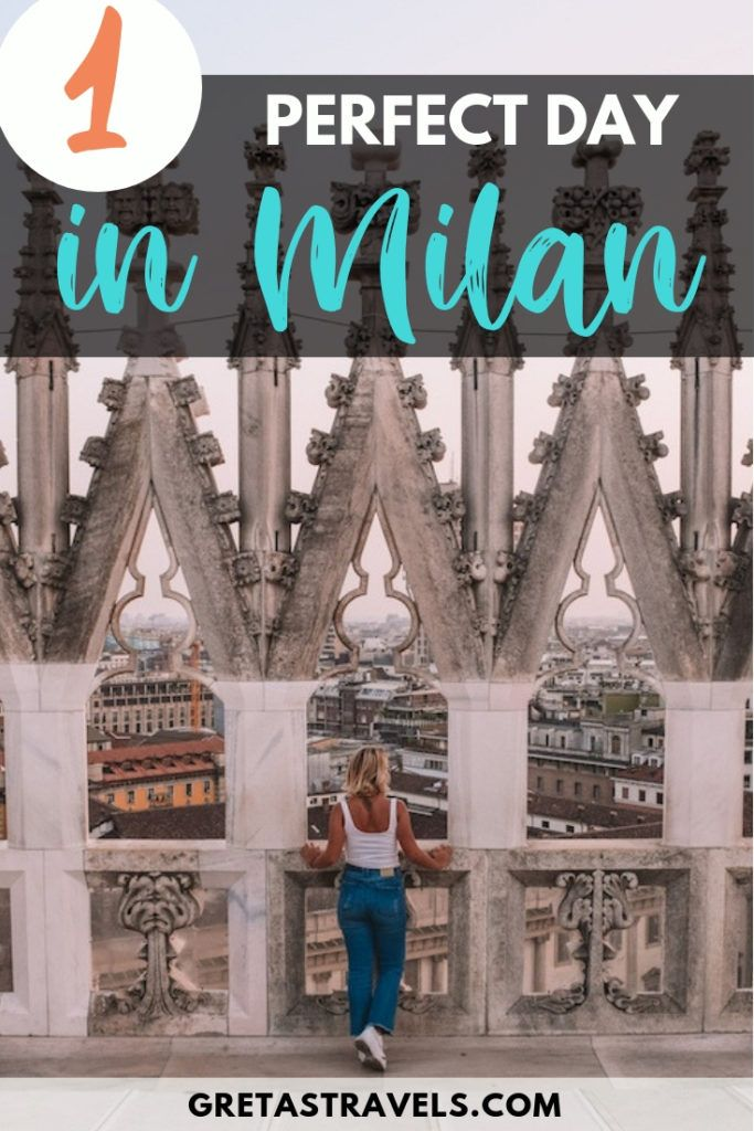Milan is one of the most popular cities in Italy. Find out the best things to do, places to see and where to eat if you're only visiting Milan for one day. #milan #italy #traveladvice #milaninoneday #milantraveltips #europe #milantraveladvice