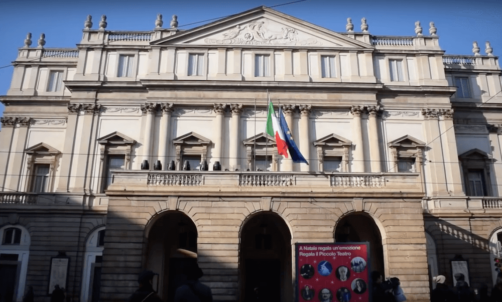 Teatro alla Scala, the most famous theatre in Milan