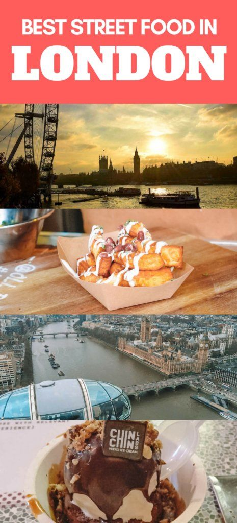 If you love street food, London has plenty to offer! With its international influence there are some amazing street food markets all around the city. Check out this guide to discover all the best street food in London. #london #streetfood #beststreetfoodinlondon