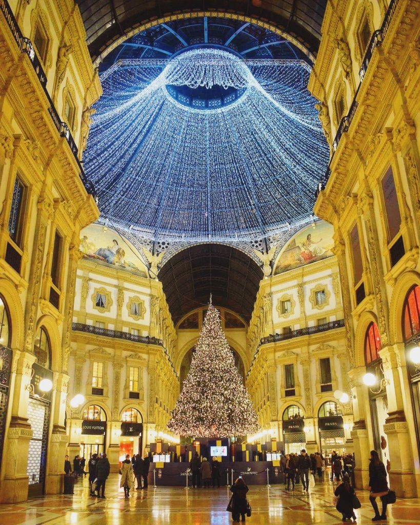 Christmas in Milan, Italy
