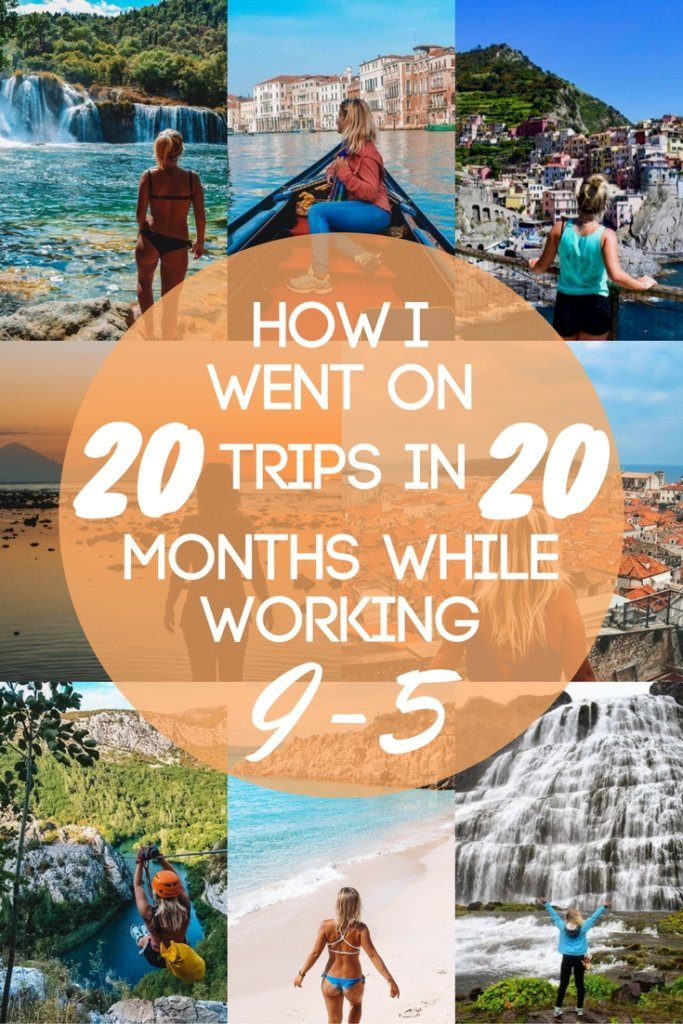 If you love travelling but you have a full time job and don't know how to balance the two, this article is for you! I will explain the methods I personally use to travel more with a full time job.