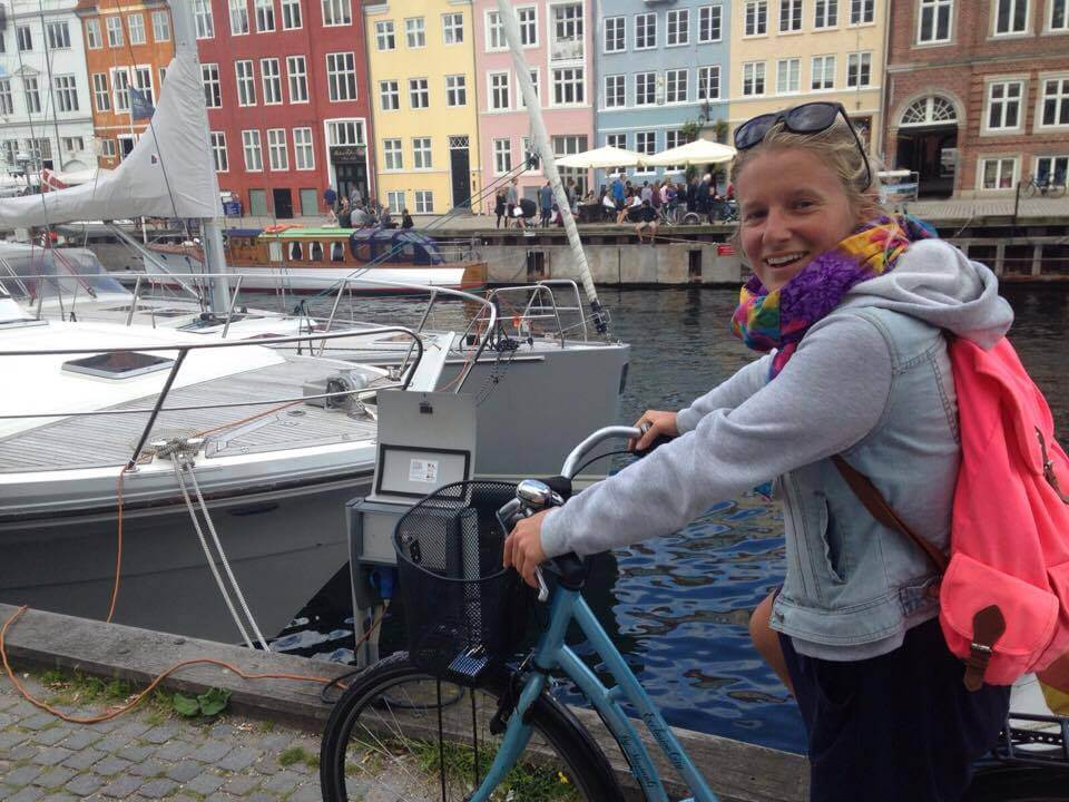 Cycling in Copenhagen, Denmark, shot on Sony Compact Camera