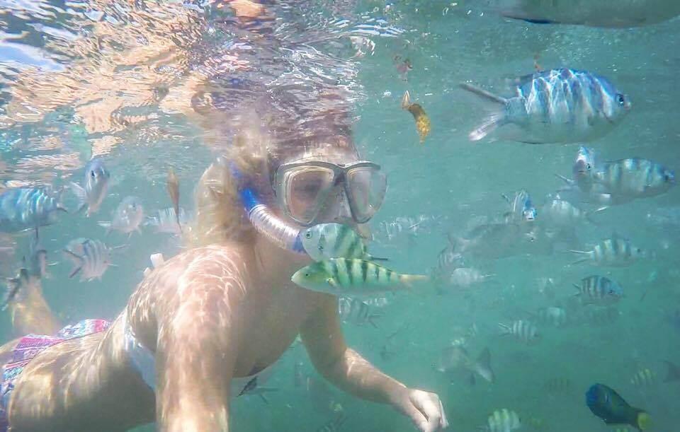"""Snorkeliavimas Malindi jūrų parke, Kenijoje, nušautas ant """"GoPro Hero 4 Silver"""""""