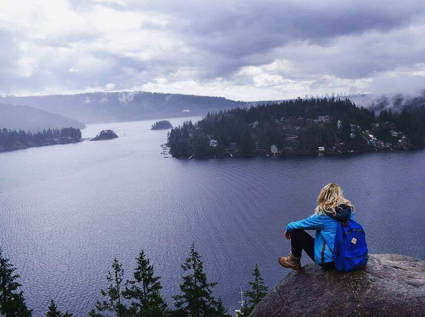 View from the top of Quarry Rock