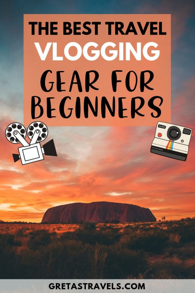 Want to shoot awesome travel vlogs but don't know what gear to use? Check out this travel video gear guide for beginners! In this guide I list all the best travel vlogging gear that you might need when starting out. #travelvideo #travelvlog #gear #travelvideogear #traveladvice #traveltips