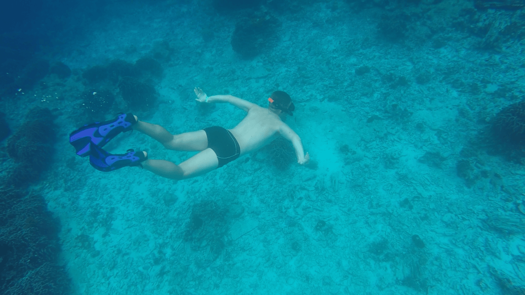 Snorkelling in the Similan Islands, Thailand, shot on GoPro Hero 4 Silver