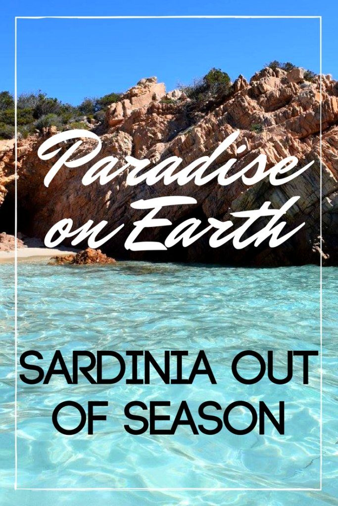 Sardinia is a paradise on earth, especially more so if you visit out of season. Imagine crystal clear water, white sandy beaches and beautiful viewpoints, and all this without other tourists around! Beaches become even more beautiful when you're the only one there! #sardinia #italy #beachholiday #spring #outofseason