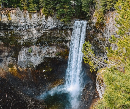 Waterfalls in Vancouver