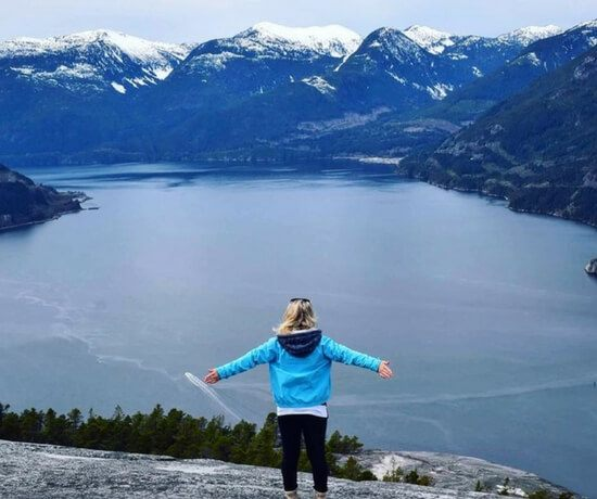 Hiking in Whistler, Canada