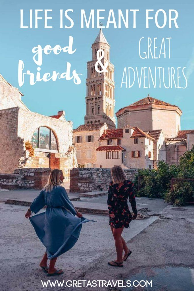 """Life is meant for good friends and great adventures"". Discover the 55 best travel quotes for travel inspiration #travelquotes #quotes #inspirationalquotes #travel #adventurequotes"