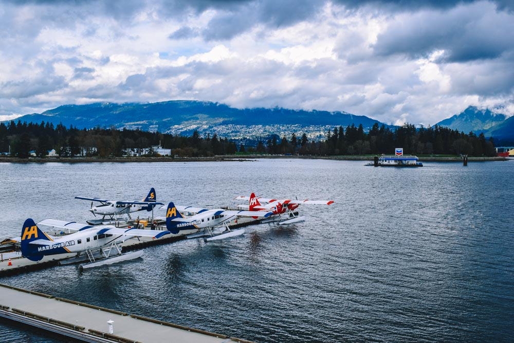 The seaplanes in Vancouver, Canada