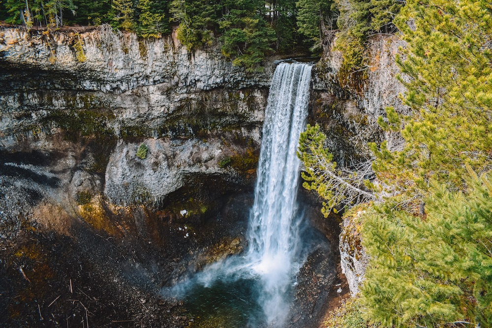 Brandywine Falls on the drive from Vancouver to Whistler, Canada