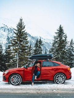 Best of the Alps press trip with Audi