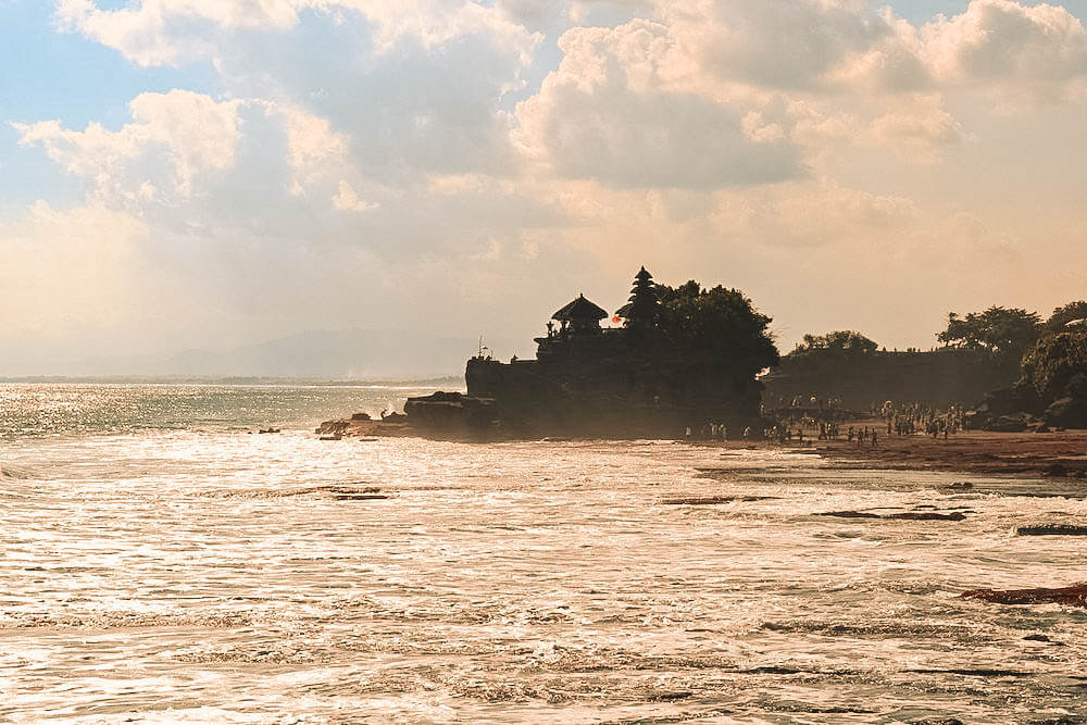 Golden hour at Tanah Lot, Bali