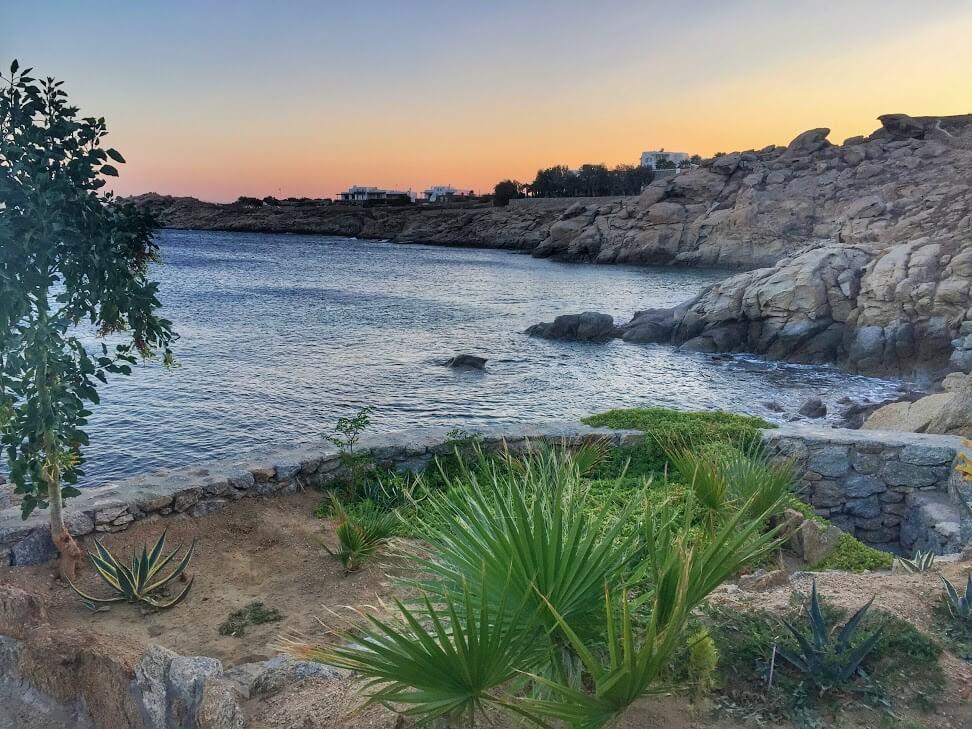 Paradise Beach in Mykonos, by Seven Day Weekender