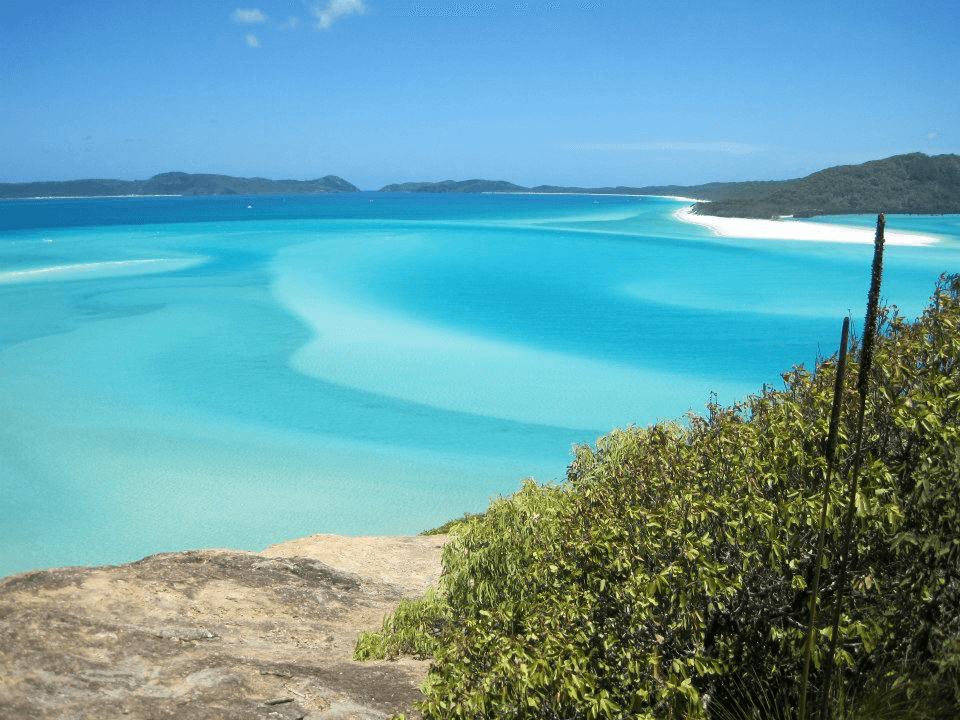 Whitehaven Beach, Australia, by She Who Wanders