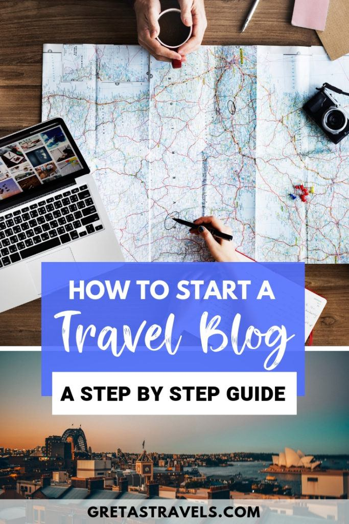 Have you been wanting to start your own travel blog but don't know how? Creating a blog has never been easier! I'm no coding genius and if I managed to create my own website, so can you! All you need to do is follow this step by step guide to discover how to create your own travel blog! (Not only for travel blogs, these guidelines apply to creating any kind of website!) #travelblog #blog #howtostartablog #websiteadvice