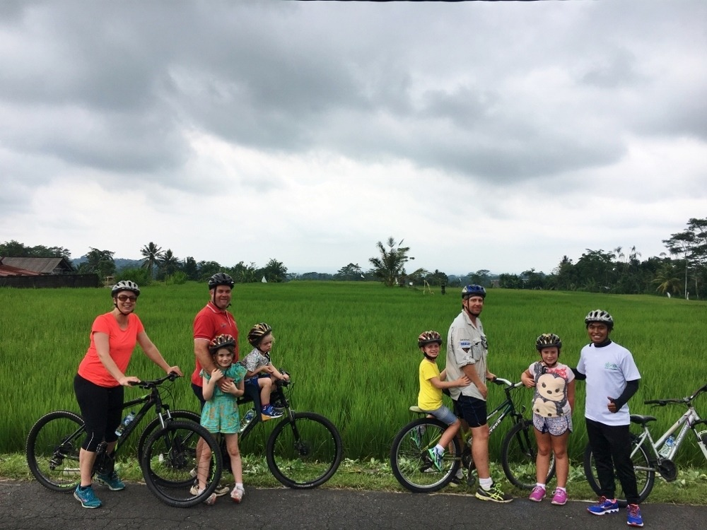 Bali Bike Tour, photo by Rolling Along With Kids