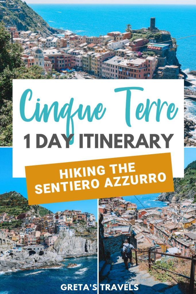 Hiking the Sentiero Azzurro in Cinque Terre in one day