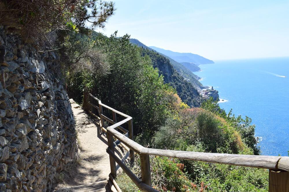 Amazing views hiking the Sentiero Azzurro