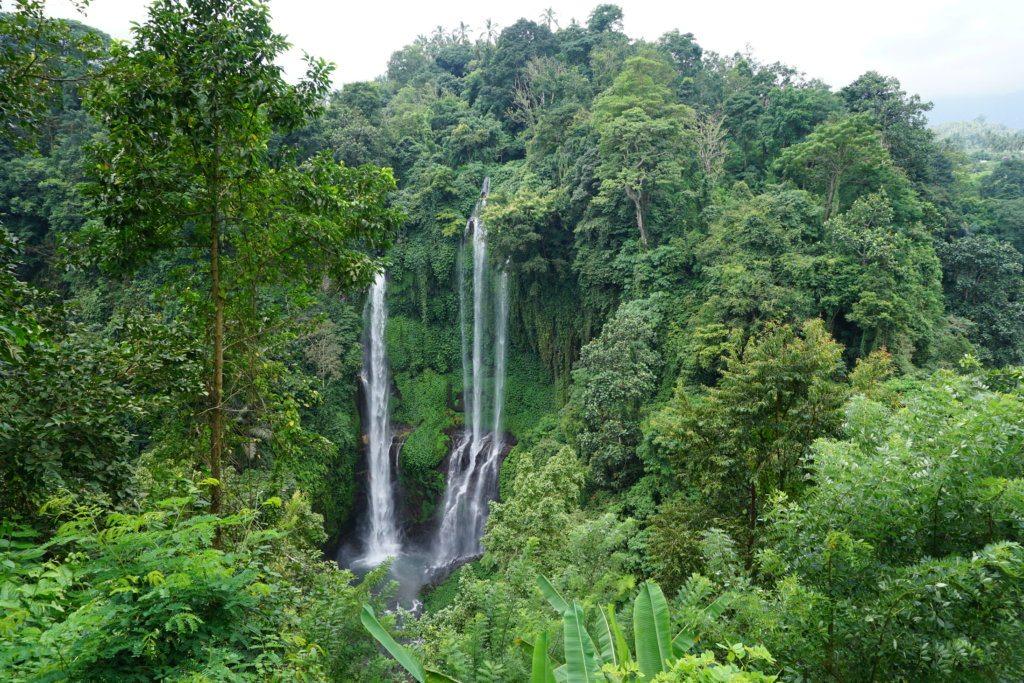Sempuku waterfalls, by My Feet Will Lead Me
