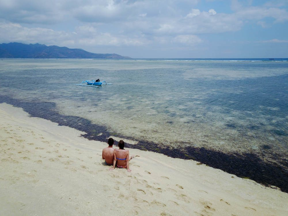 One of the beaches in Gili Air, photo by Beach Addicted