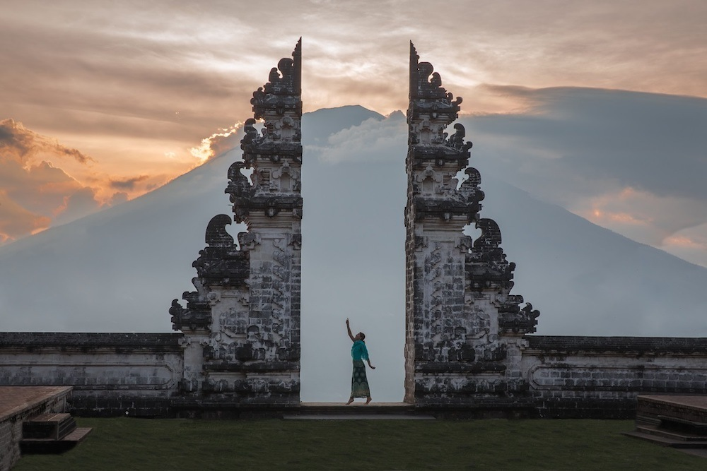 Lempuyang Temple, photo by Beard and Curly