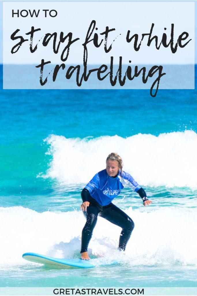 Keliaujant sunku išlaikyti formą, niekas atostogaudamas nemėgsta sportuoti ar valgyti.  Jei norite sužinoti, kaip būti tinkamam atostogaujant, aš parengiau vadovą su 8 geriausiais patarimais, kaip išlikti tinkamiems keliaujant.  # kelionių patarimai # kaip jums tinka, keliaudami # sveikatingumo patarimai # sveiki patarimai