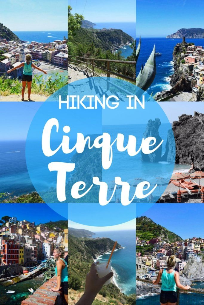 """Find out everything you need to know about hiking the """"Sentiero Azzurro"""", the hiking trail that connects the five towns along the Italian coastline that form Cinque Terre. #cinqueterre #italy #europe #hiking #hikingtrail #sentieroazzurro"""