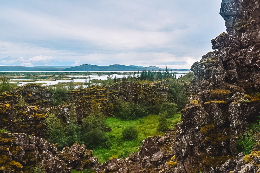 Thingvellir National Park in the Golden Circle, Iceland