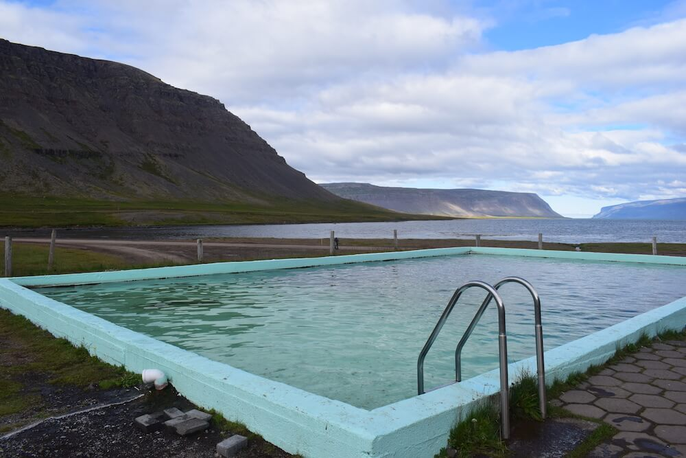 One of the many free thermal pools in Iceland