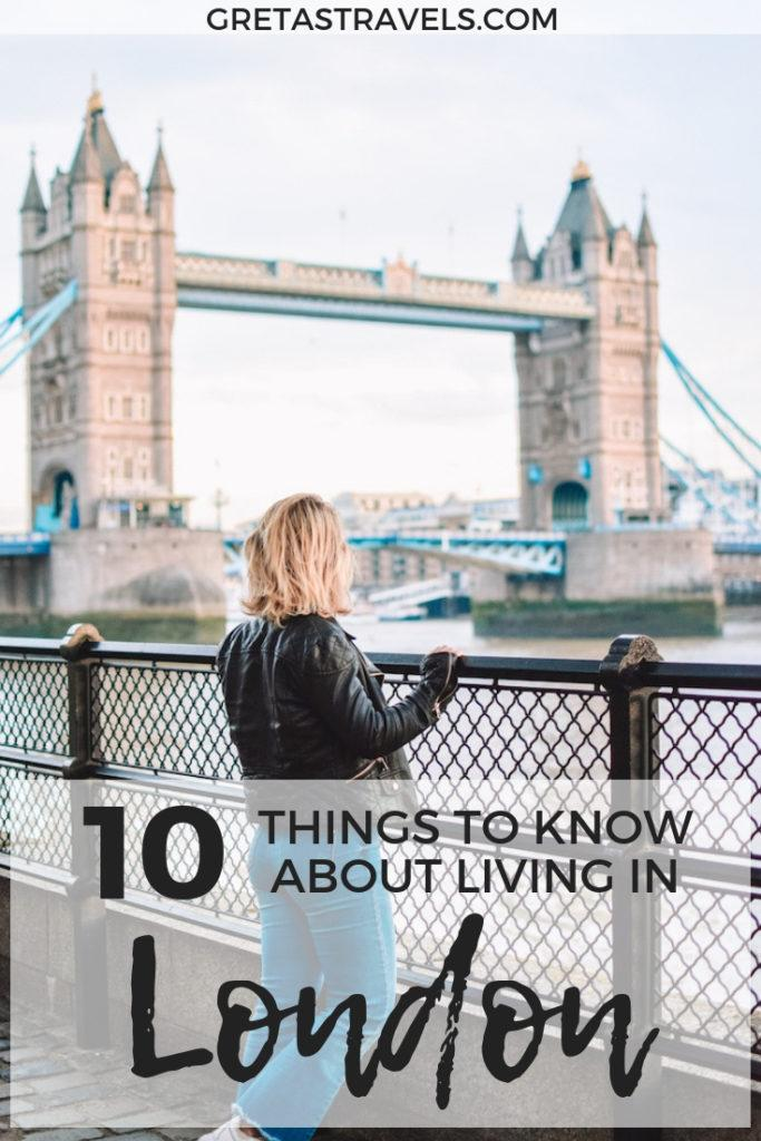 Moving to London as a student? Discover the 10 things I wish I'd known about living in London as a student before moving there #london #unitedkingdom #studentlife #studentinlondon