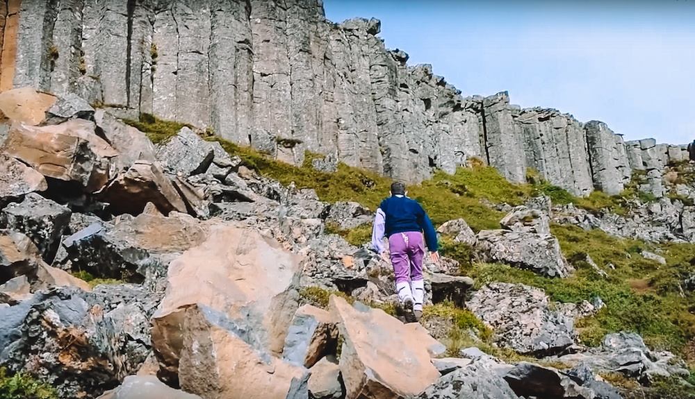 Exploring the Gerduberg basalt columns