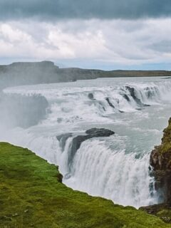 Gullfoss Waterfall - one of the most beautiful places in the Golden Circle
