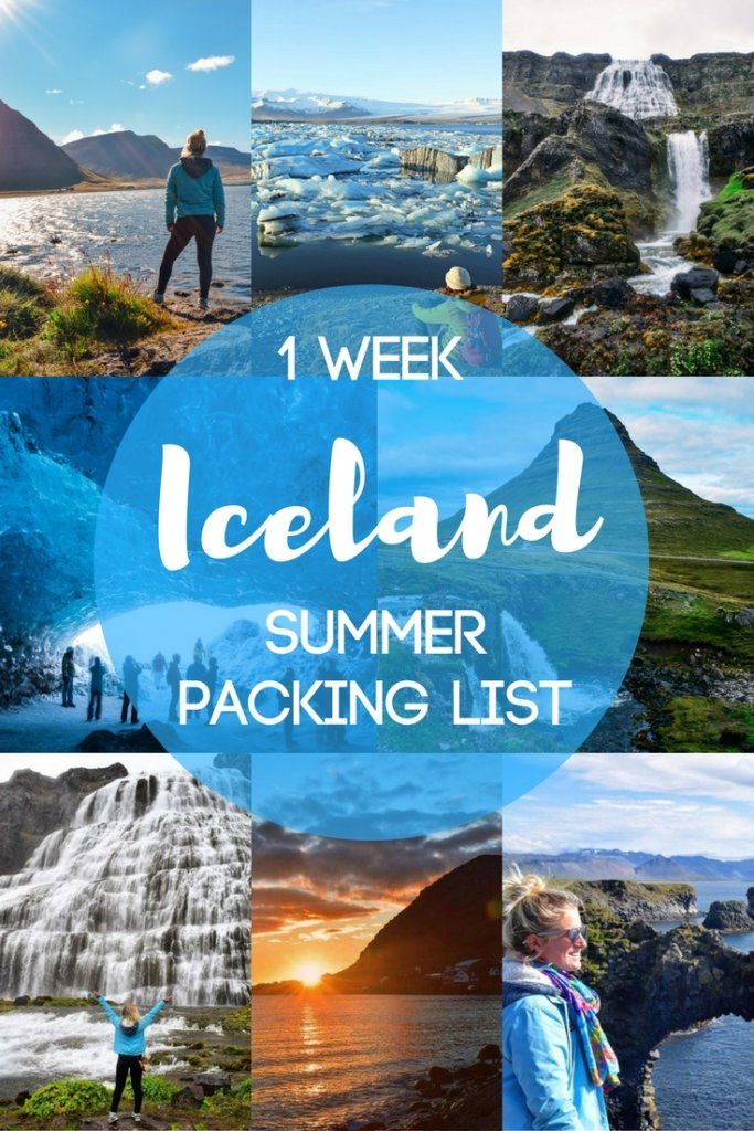 Planning a summer trip to Iceland? Find out what to pack with this detailed Iceland summer packing list. This list is based off what I packed for my own summer trip to Iceland. Get some inspiration and find out what is best to wear in Iceland in summer. #icelandsummerpackinglist #iceland #icelandinsummer #packinglist